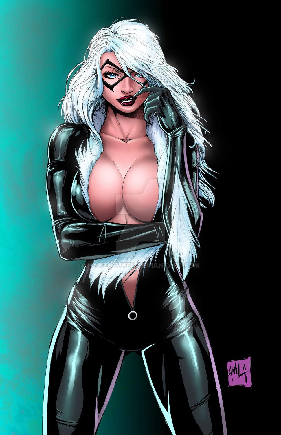 Sexy marvel black cat