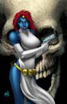 Mystique commission colors
