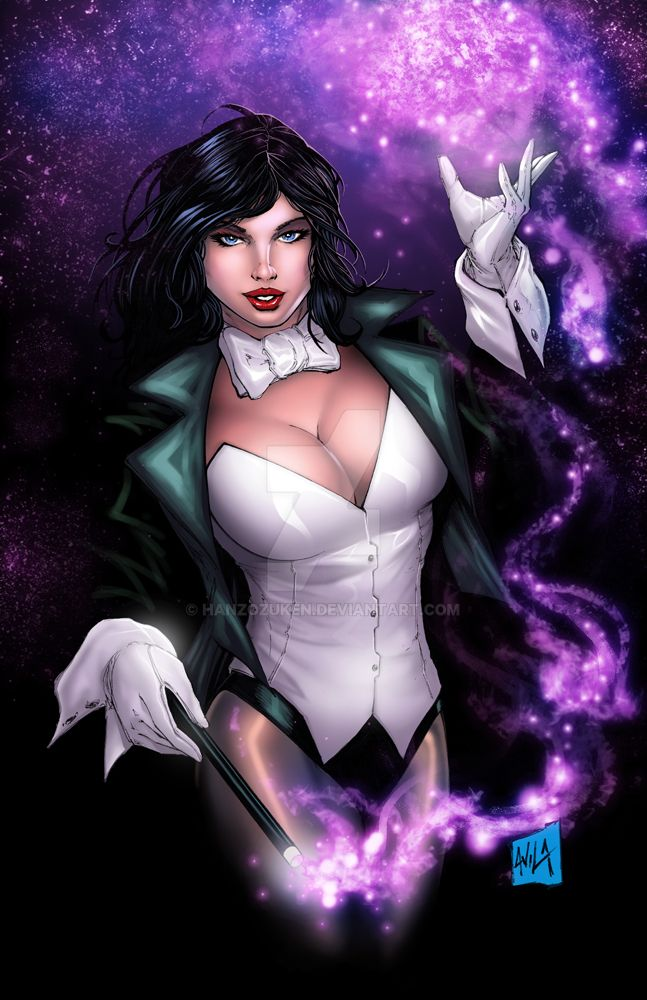 Zatanna Colors by hanzozuken
