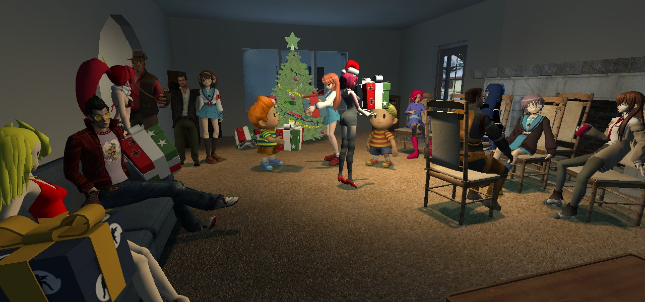 Gmod- Christmas party by jayemeraldover9000x