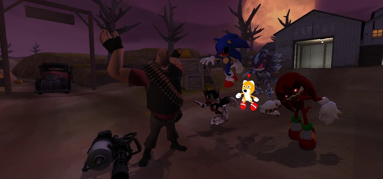⭐ Dark sonic vs sonic exe animation | Dark Sonic vs www