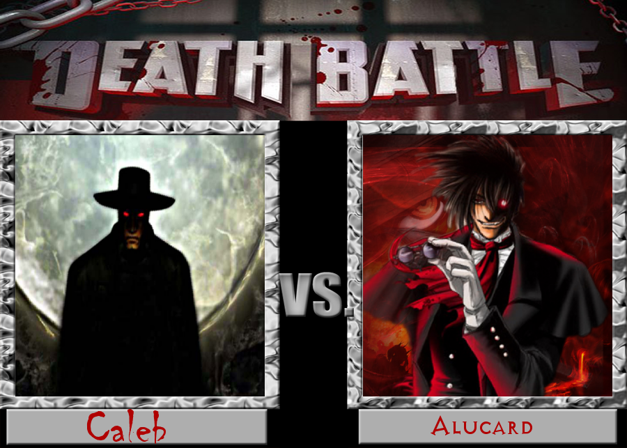 Death Battle Caleb Vs. Alucard by jayemeraldover9000x