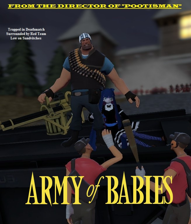 Gmod- Army of Babies by jayemeraldover9000x