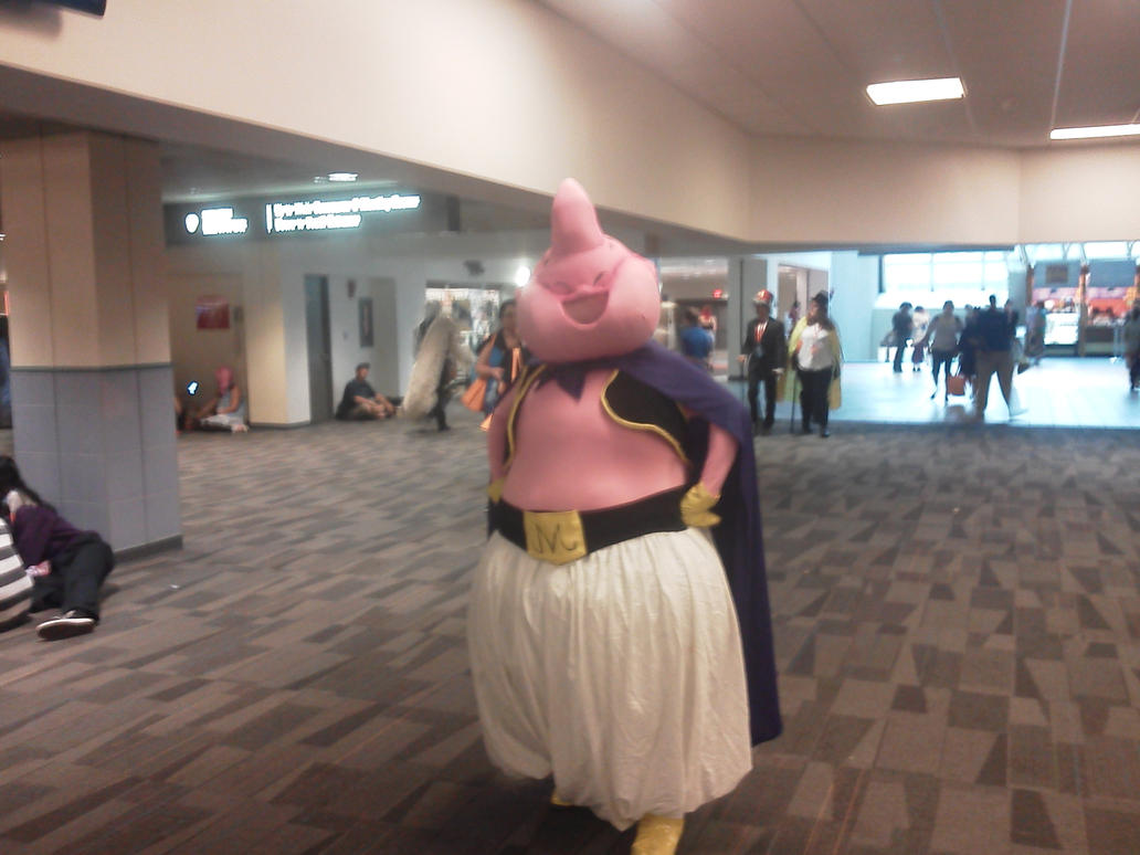Matsuricon 2015 part 9- Majin Buu by jayemeraldover9000x