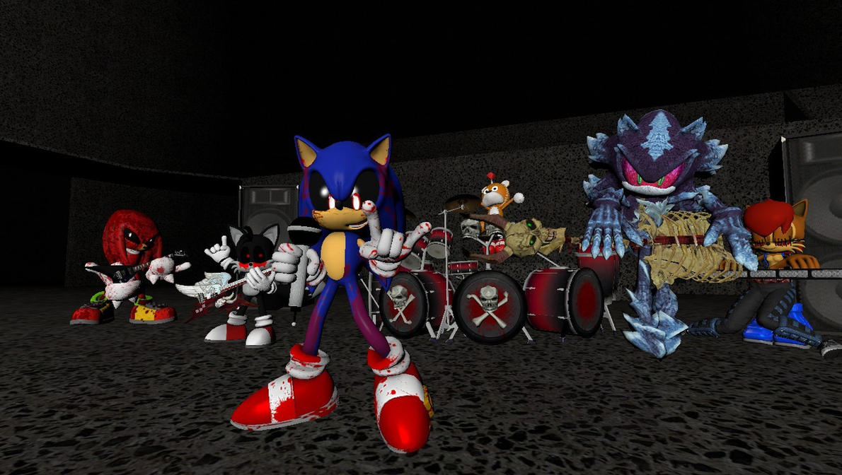 Gmod- Sonic.exe will Rock The Hell Outta You by jayemeraldover9000x