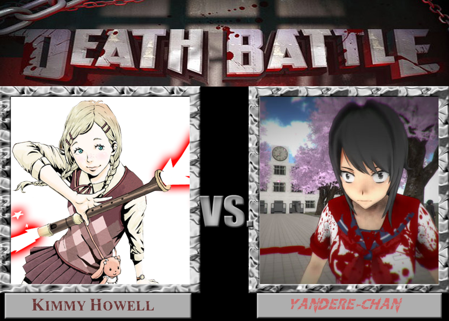 Death Battle Kimmy Howell Vs. Yandere-chan by jayemeraldover9000x