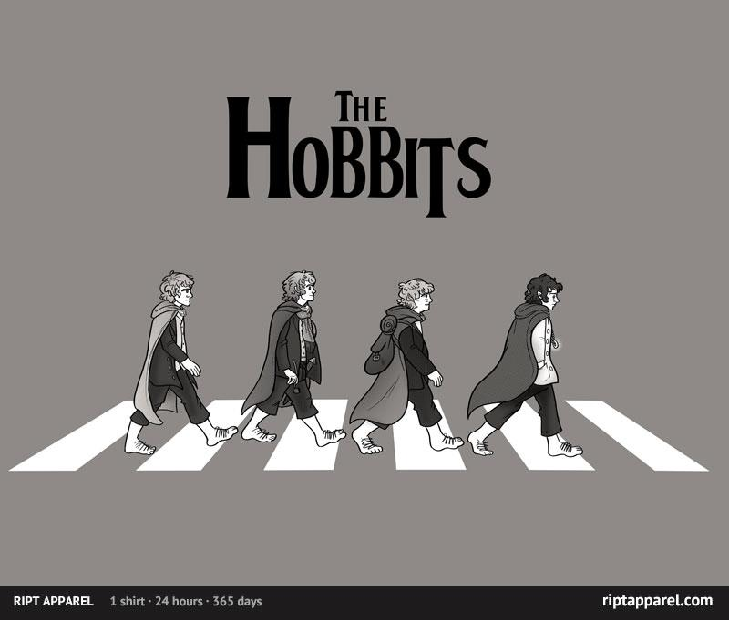 The Hobbits dfksdfjdf by rahrahmonster