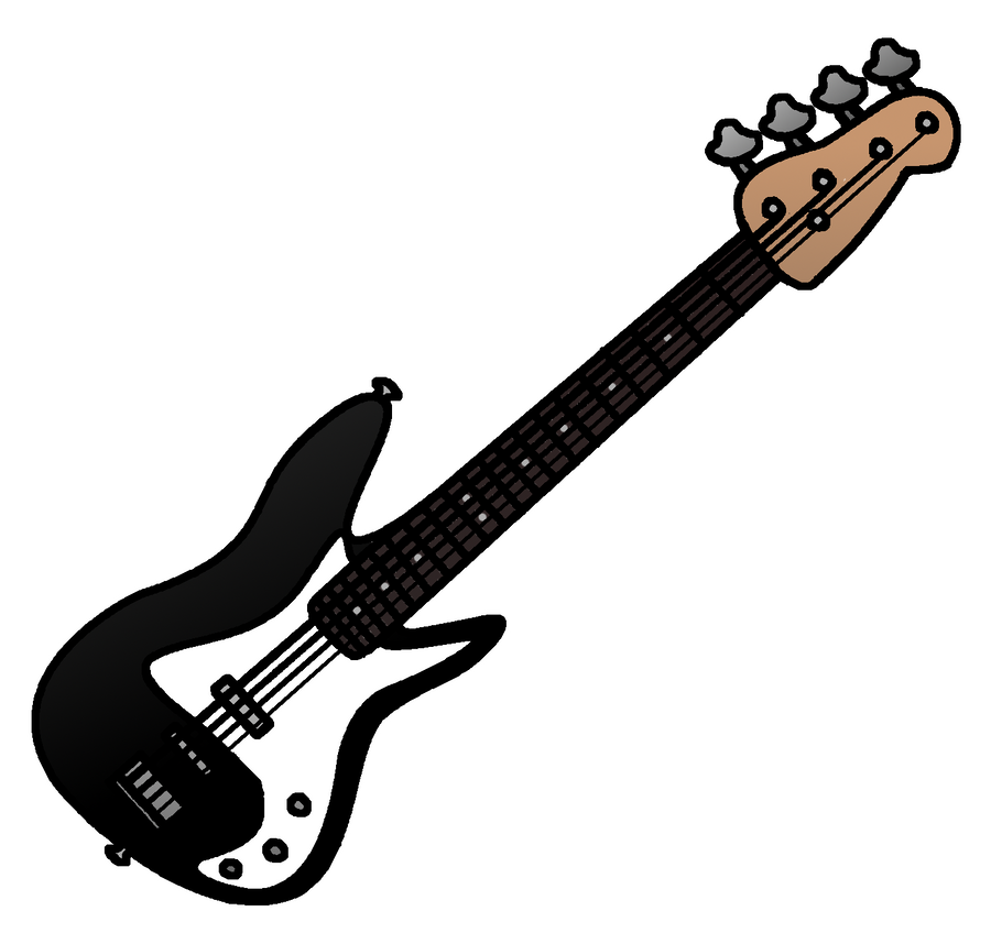 My Bass Guitar By Phantom Wolf42