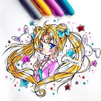 Usagi Tsukino Colored