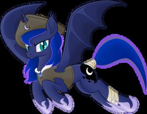 [Princess Luna] Captain of bat's pirates