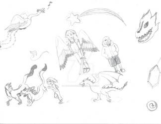 Levia's Doodle Page
