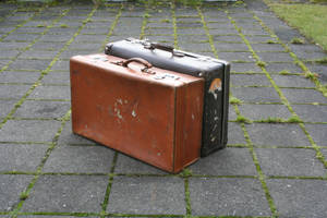 Suitcases by frozt-stock