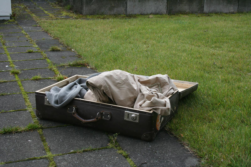 Suitcase open