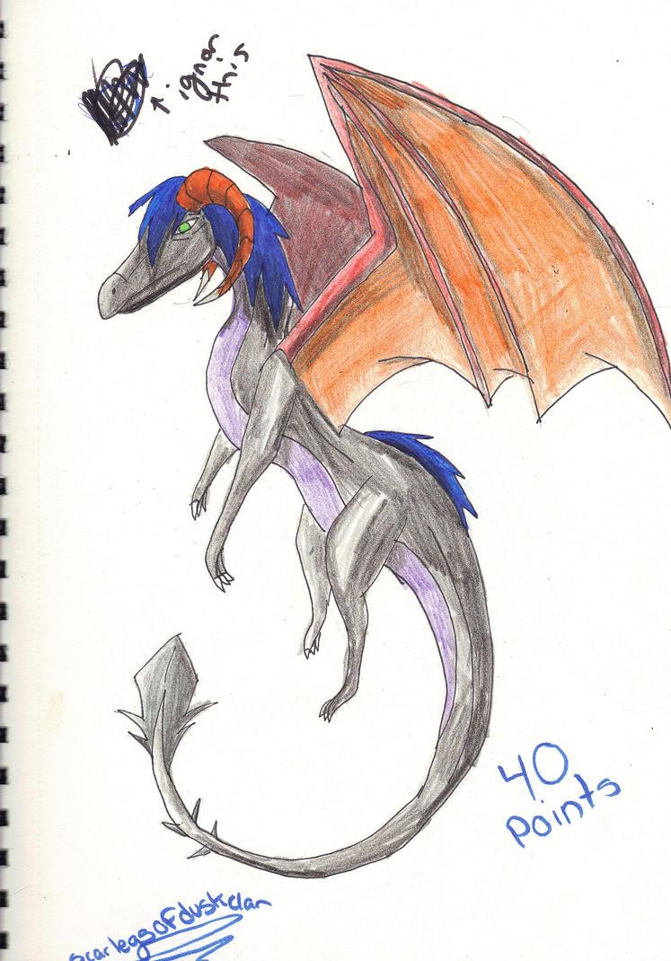 single dragon adopt 1 (price lowerd) by Onyx-Niight