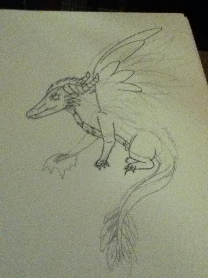 dragon custome adopt (wip) by Onyx-Niight