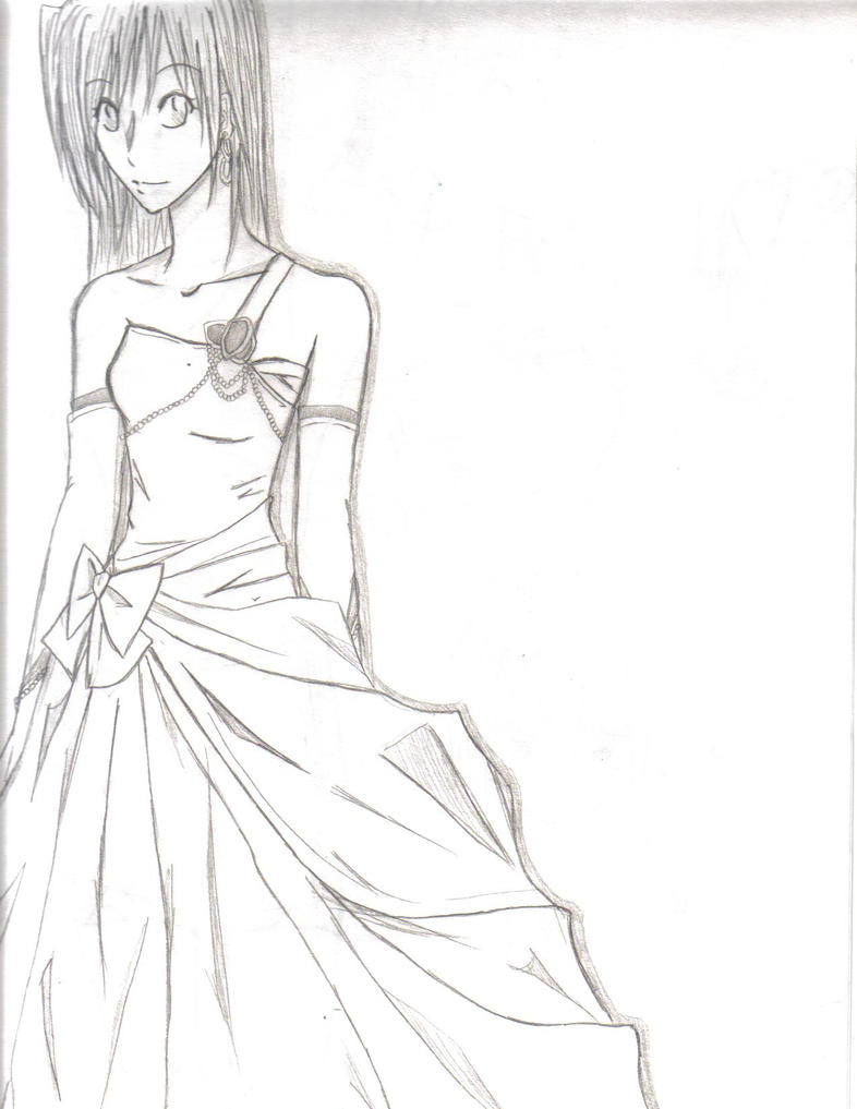 ball gown dress drawings - photo #41