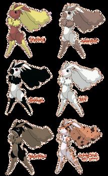 PKMN: Lopunny Variations