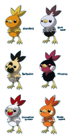 PKMN: Torchic Variations by Phantomania