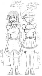 Two Cute Dresses for Miss Valerie Valentine! by A-Round-Toit