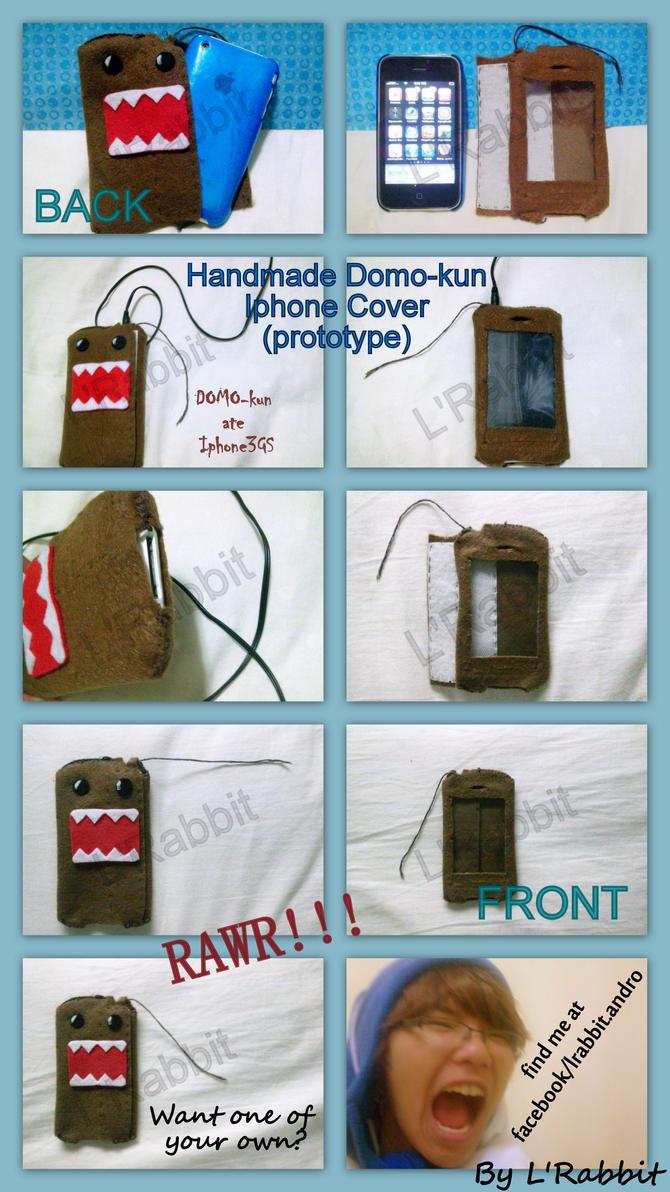 Iphone Domo Kun Cover by rundown-rabbit