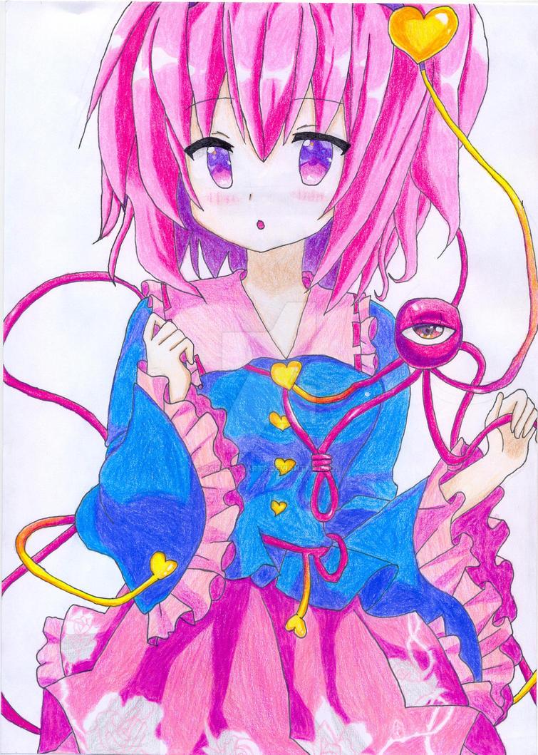 Satori Komeiji Fan Art by Paradox-arts