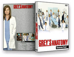 Grey's Anatomy S04 Cover by sealreaper