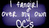OC Fangirl Stamp by rynoki