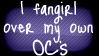 OC Fangirl Stamp by rynoki