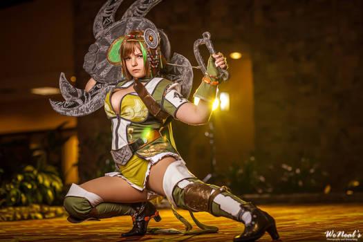 Bao Sanniang - Green Warrior