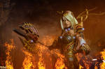 Janna, the Harbinger of War