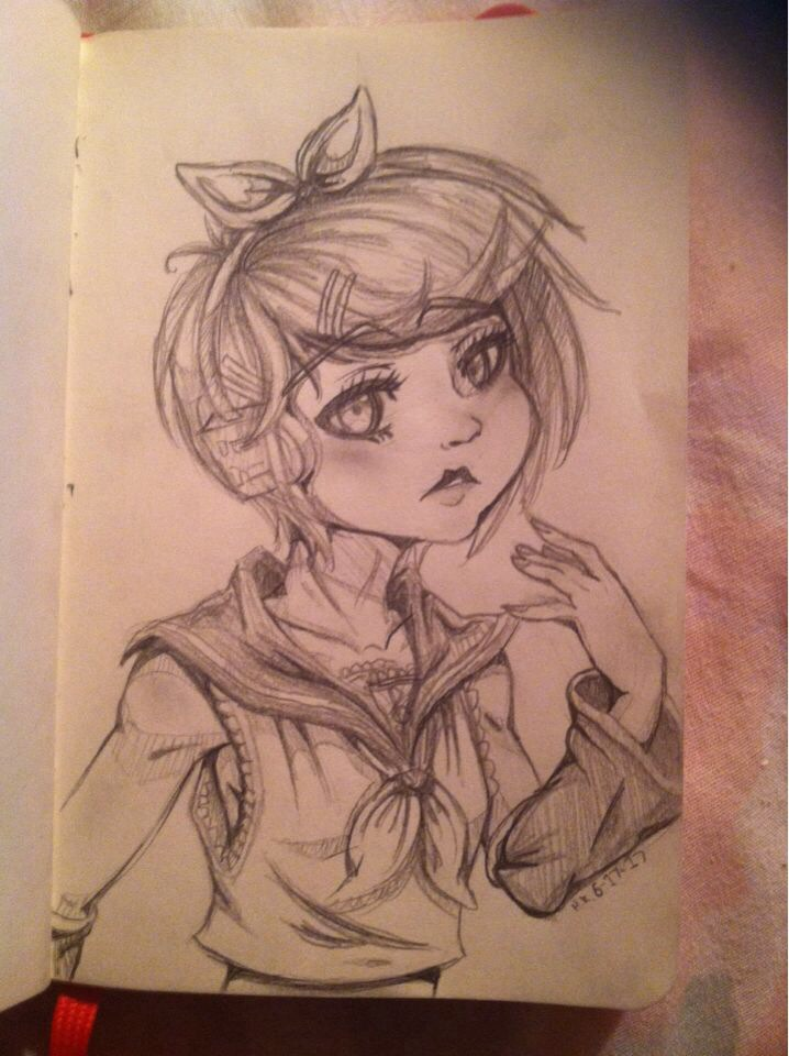 Kagamine Rin by myinsanebestfriend