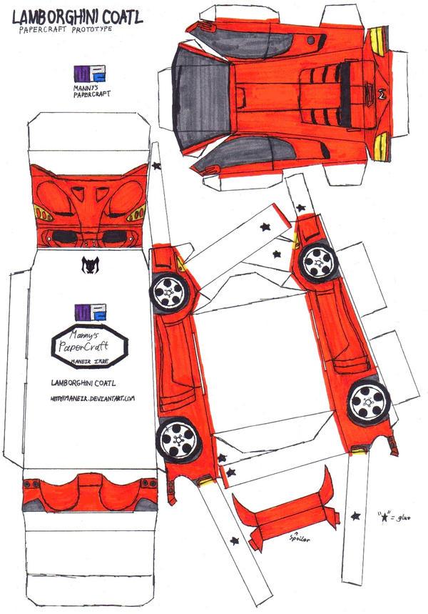 Car Origami 3d