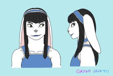 Kaori Sketch 20200411
