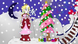Princess Peach Love Christmas