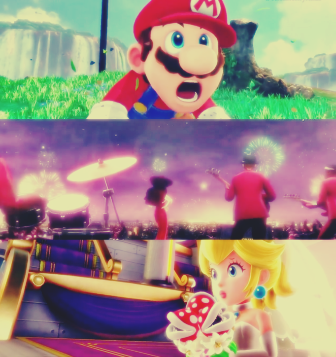 Super Mario Odyssey by Luna2528CP