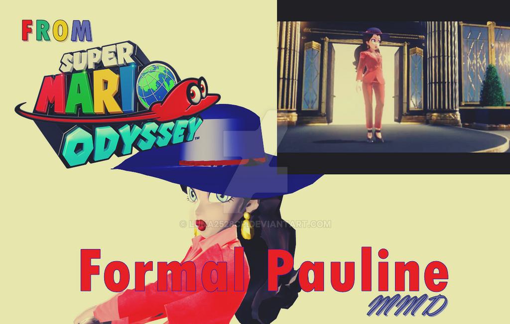 Formal Pauline [MMD] by Luna2528CP