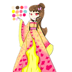 Kimono Princess Luna Reference