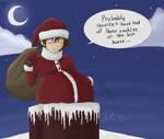 DoodleADay Dec 19 - Chimney