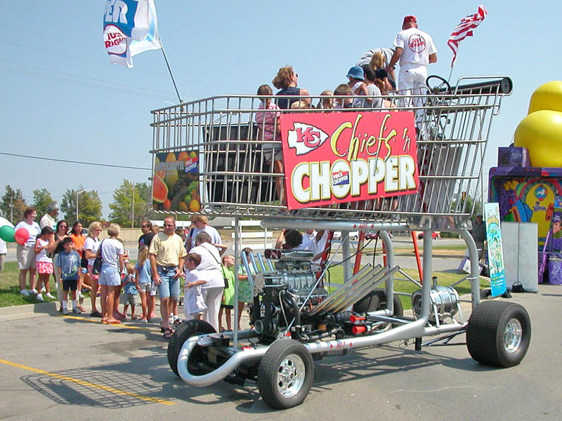 giant grocery cart hot rod by stealthbeetle on DeviantArt