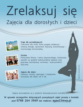 Relax - Yoga training