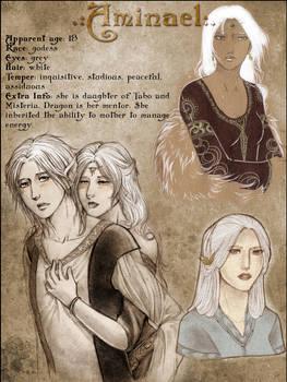 Character sheet: Aminael