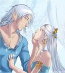 Aminael and Dragon:his fiancee