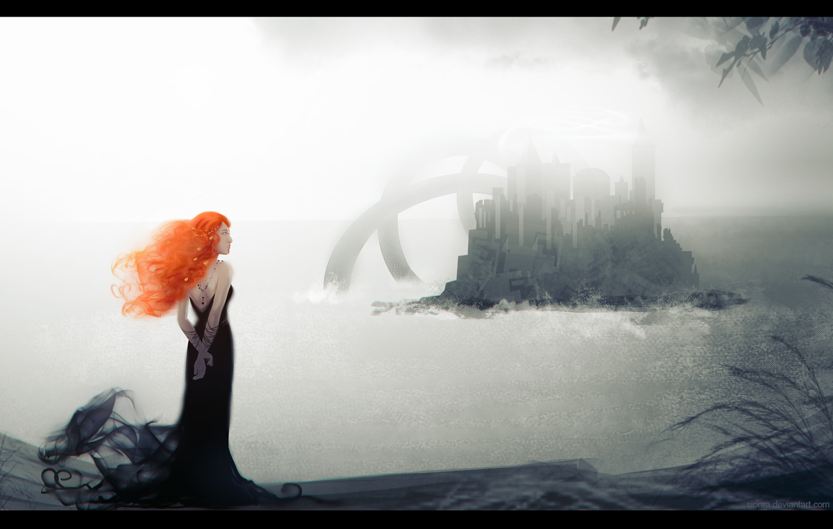 Ocean of my sorrow  by sionra