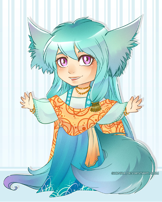 Free foxy Adopt Raffle [CLOSED] by sionra