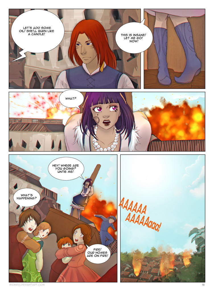 Once upon a Time: 16page by sionra