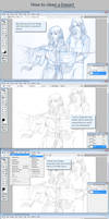 Tutorial: sketch erasing by sionra