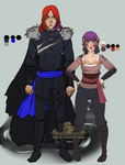 New costumes for Yaroslav and Sif