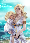 Commission: Cassia and Kyrie