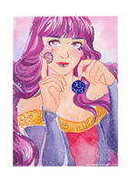 Watercolor: Happy New Year by sionra