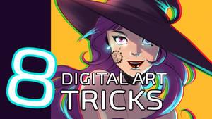 Video announce: 8 Digital Art tricks
